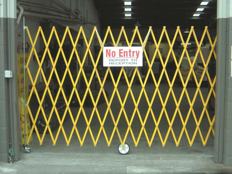 Custom Expandable Safety Barrier